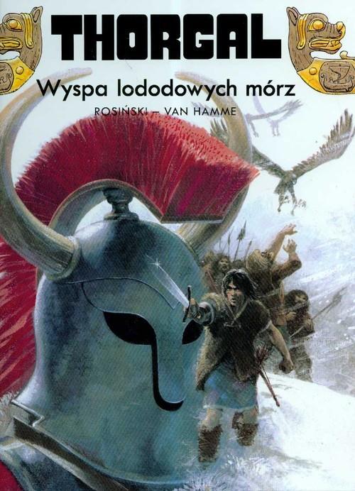 okładka Thorgal Wyspa lodowych mórz Tom 2książka      Grzegorz Rosiński, Jean Hamme