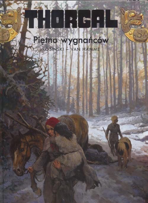 okładka Thorgal Piętno wygnańców Tom 20książka |  | Grzegorz Rosiński, Jean Hamme