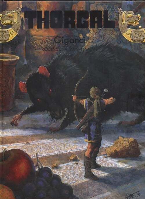 okładka Thorgal Giganci Tom 22książka |  | Grzegorz Rosiński, Jean Hamme