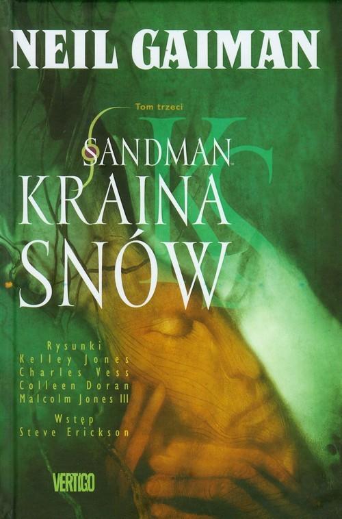 okładka Sandman Kraina snów t.3książka      Neil Gaiman