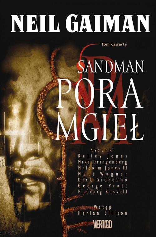 okładka Sandman Pora mgieł Tom 4 Komiksksiążka      Neil Gaiman