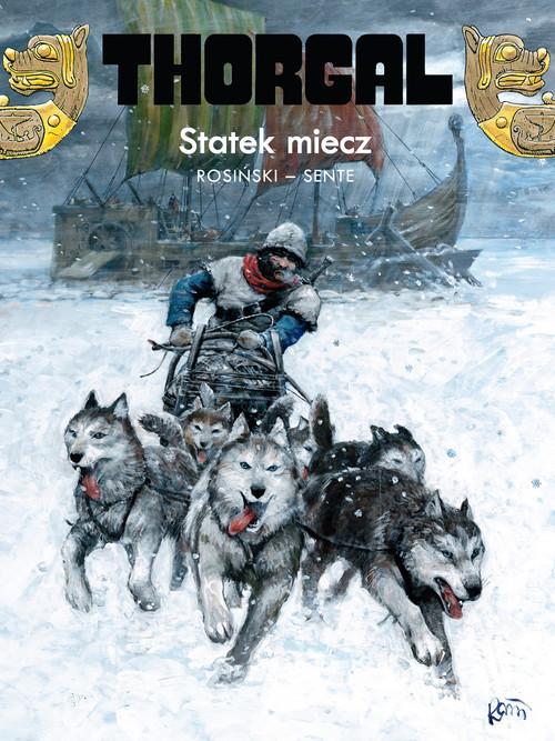 okładka Thorgal Statek miecz Tom 33książka |  | Grzegorz Rosiński