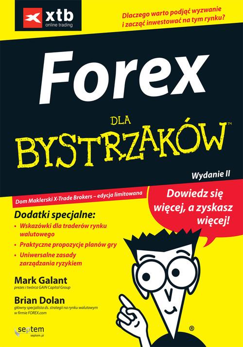 okładka Forex dla bystrzakówksiążka |  | Mark Galant, Brian Dolan