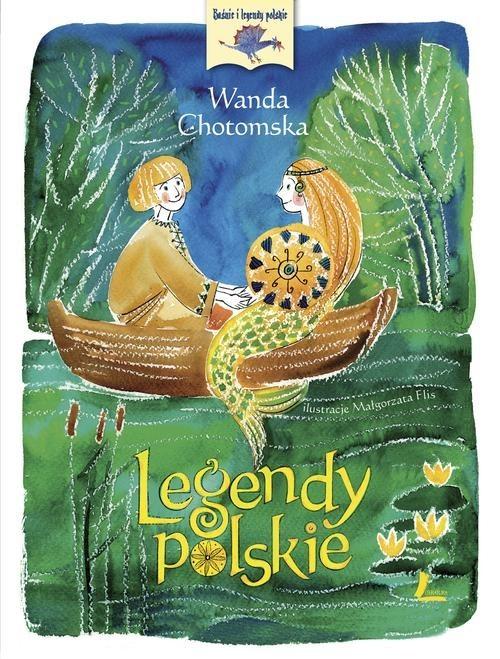 okładka Legendy polskieksiążka      Chotomska Wanda
