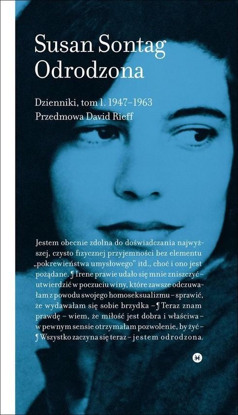 okładka Odrodzona Dzienniki Tom 1 1947-1963książka      Susan Sontag