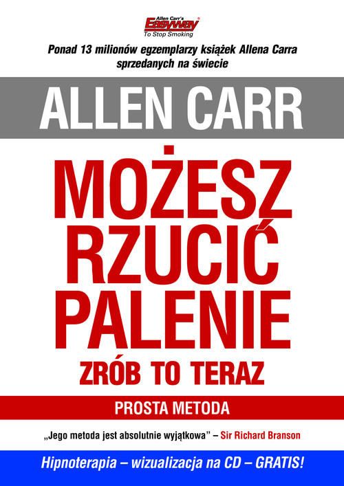 okładka Możesz rzucić palenie Zrób to teraz + CD Prosta metodaksiążka |  | Carr Allen