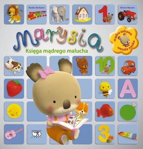 okładka Marysia Księga mądrego maluchaksiążka      Berkane Nadia