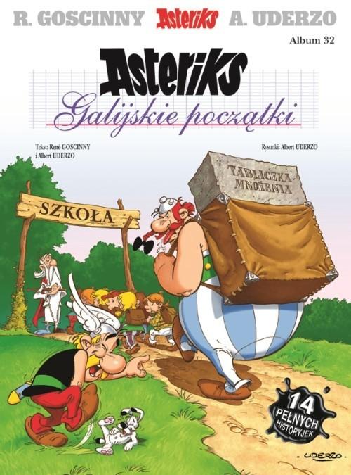 okładka Asteriks Galijskie początki Tom 32książka |  | René Goscinny, Albert Uderzo