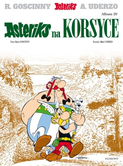 okładka Asteriks na Korsyce Tom 20książka |  | René Goscinny