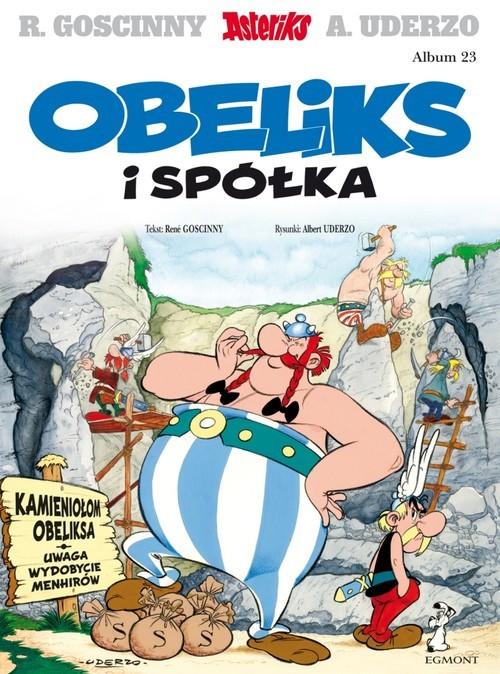 okładka Asteriks Obeliks i spółka Tom 23książka      René Goscinny, Albert Uderzo