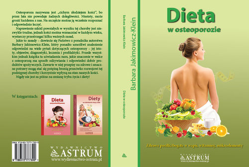 okładka Dieta w osteoporozieksiążka      Barbara Jakimowicz-Klein