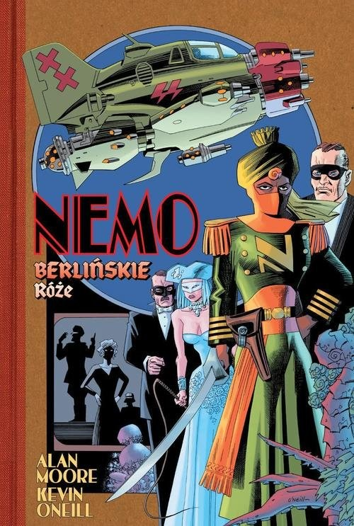 okładka Nemo Berlińskie różeksiążka |  | Alan Moore