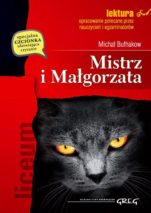 okładka Mistrz i Małgorzata z opracowaniemksiążka |  | Bułhakow Michał
