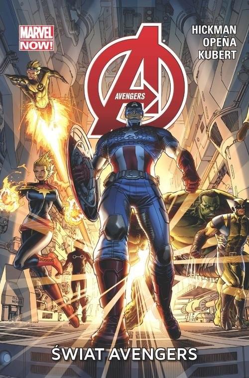 okładka Avengers Świat Avengersksiążka      Jonathan Hickman