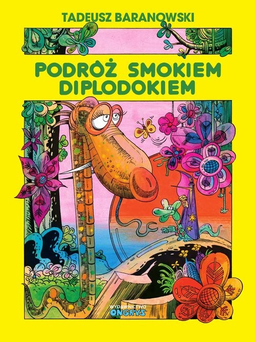 okładka Podróż smokiem Diplodokiemksiążka |  | Tadeusz Baranowski