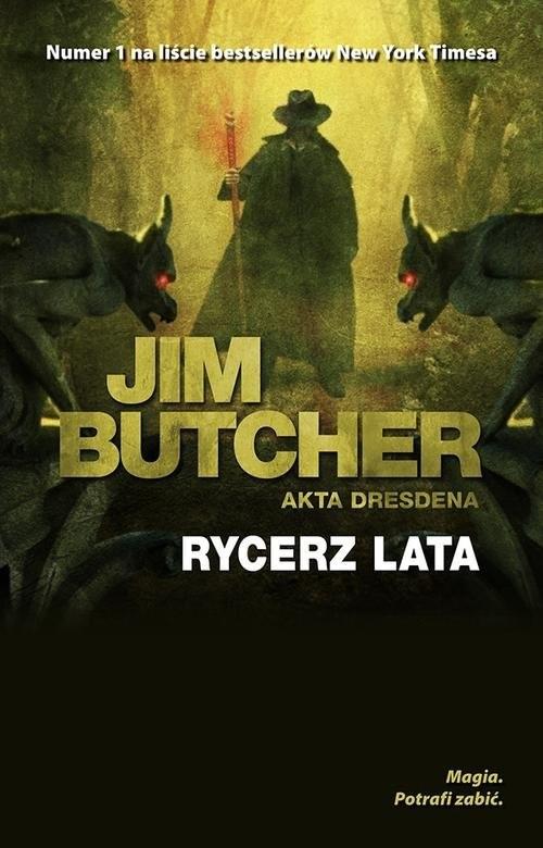 okładka Rycerz lataksiążka      Jim Butcher
