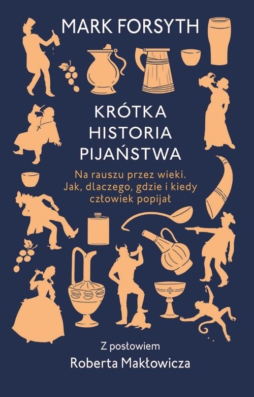 okładka Krótka historia pijaństwaksiążka |  | Forsyth Mark