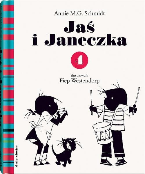 okładka Jaś i Janeczka 4książka      Schmidt Annie M.G.