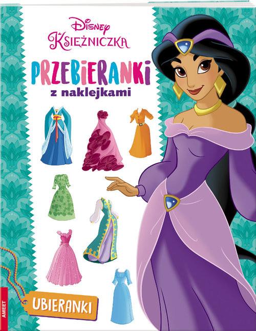 okładka Disney Księżniczka Przebieranki z naklejkami TRA-2książka     