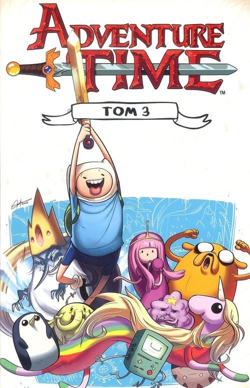 okładka Adventure time 3 / Studio JGksiążka |  | Praca Zbiorowa