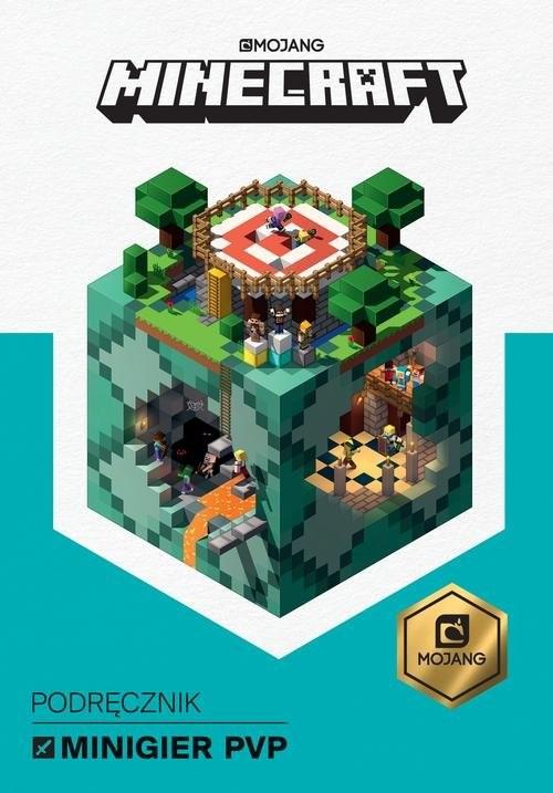 okładka Minecraft Podręcznik minigier PvPksiążka      Stephanie Milton, Craig Jelley