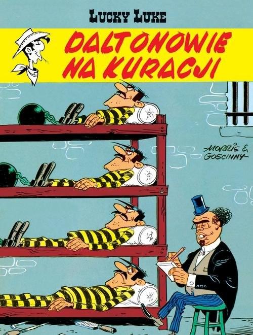 okładka Lucky Luke Daltonowie na kuracjiksiążka |  | René Goscinny, Morris
