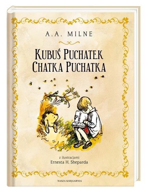 okładka Kubuś Puchatek Chatka Puchatkaksiążka |  | A.A. Milne, Irena Tuwim