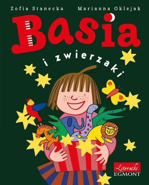 okładka Basia i zwierzakiksiążka      Zofia Stanecka