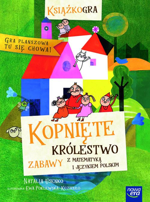 okładka Kopnięte Królestwo zabawy z matematyką i językiem polskimksiążka |  | Natalia Usenko