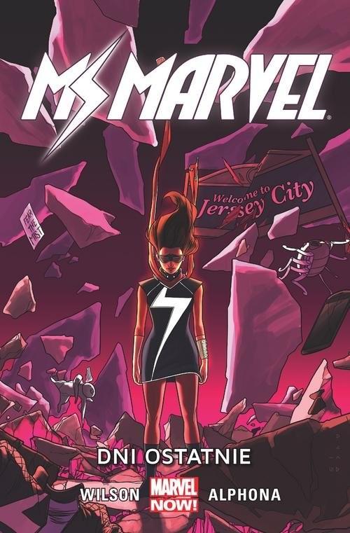 okładka Ms Marvel Tom 4 Dni ostatnieksiążka |  | G. Willow Wilson, Christos Gage, Dan Slott