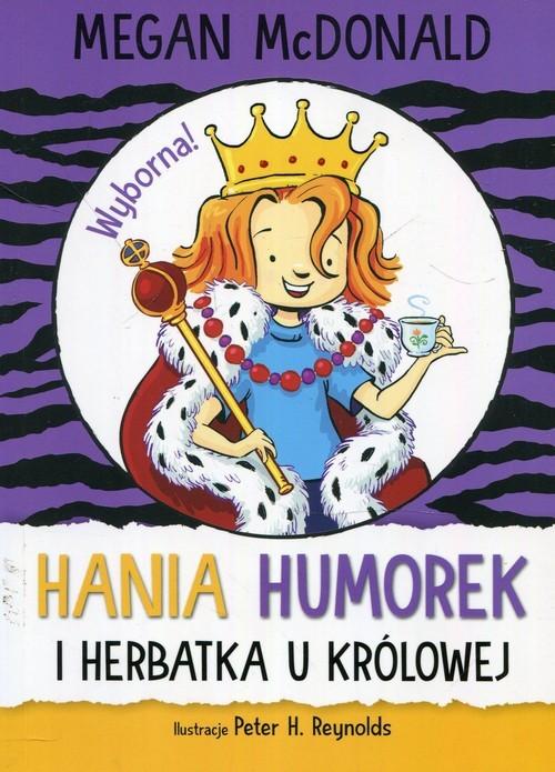 okładka Hania Humorek i herbatka u królowejksiążka      McDonald Megan