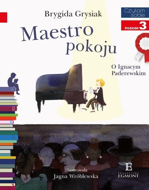okładka Czytam sobie Maestro pokoju poziom 3książka      Brygida Grysiak