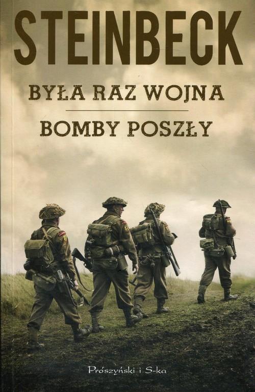 okładka Była raz wojna Bomby poszłyksiążka      John Steinbeck