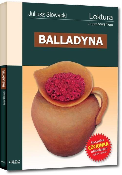 okładka Balladyna Wydanie z opracowaniemksiążka      Juliusz Słowacki