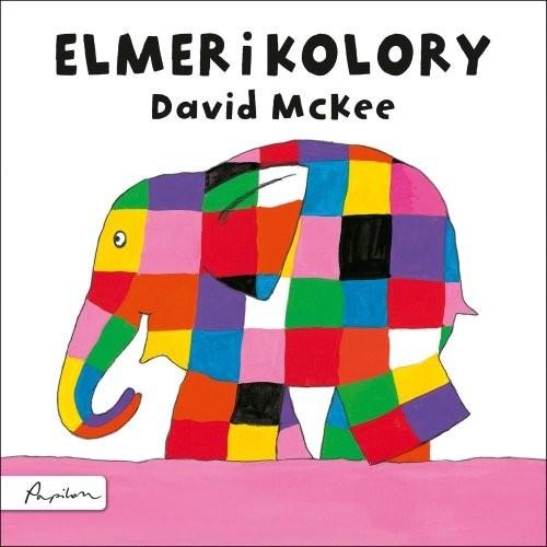 okładka Elmer i koloryksiążka      McKee David