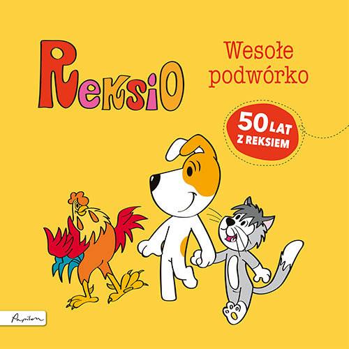 okładka Reksio Wesołe podwórkoksiążka      Szarf Maria