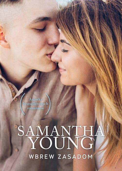okładka Wbrew zasadomksiążka      Samantha Young