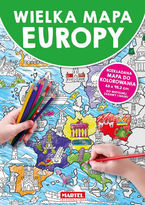 okładka Wielka mapa Europyksiążka |  |