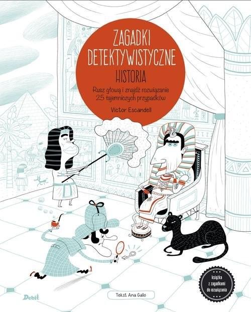 okładka Zagadki detektywistyczne Historiaksiążka |  | Escandell Victor