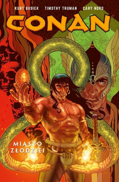 okładka Conan Tom 2 Miasto Złodzieiksiążka |  | Kurt Busiek, Timothy Truman, Mike Mignola