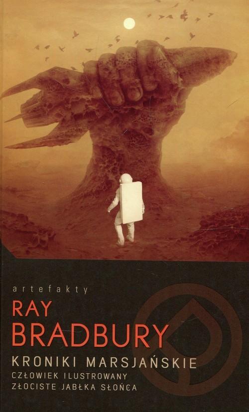 okładka Kroniki marsjańskie Człowiek ilustrowany Złociste jabłka słońcaksiążka |  | Bradbury Ray