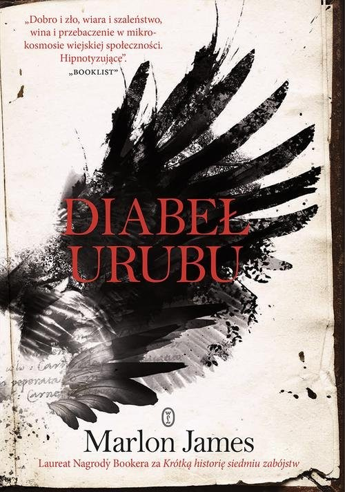 okładka Diabeł Urubuksiążka      Marlon James