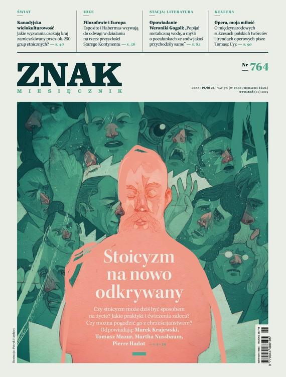 okładka ZNAK 764 01/2019: Stoicyzm na nowo odkrywanyksiążka |  |