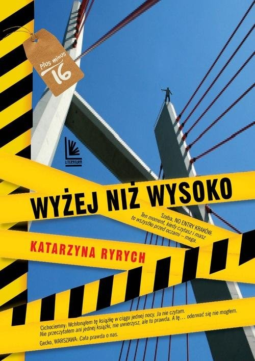 okładka Wyżej niż wysokoksiążka      Katarzyna Ryrych