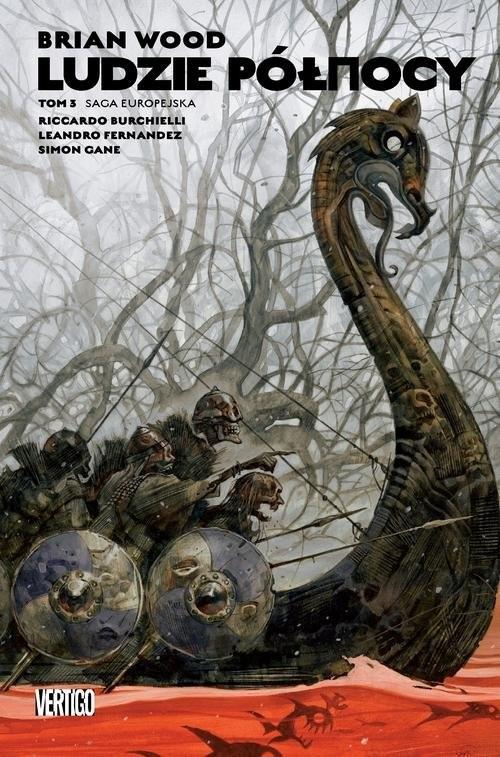 okładka Ludzie Północy Tom 3książka      Grant Morrison