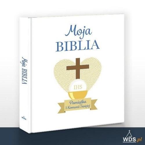 okładka Moja Biblia Pamiątka I Komunii Świętejksiążka      Davies Rhona