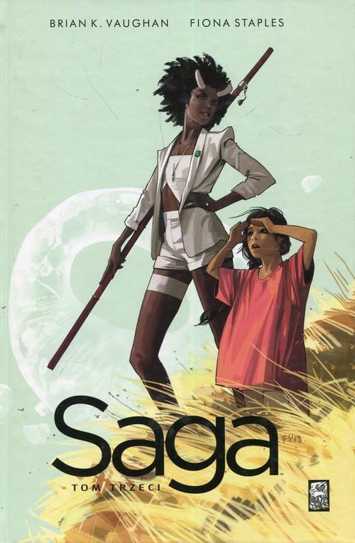 okładka Saga Tom 3książka |  | Brian K. Vaughan, Fiona Staples