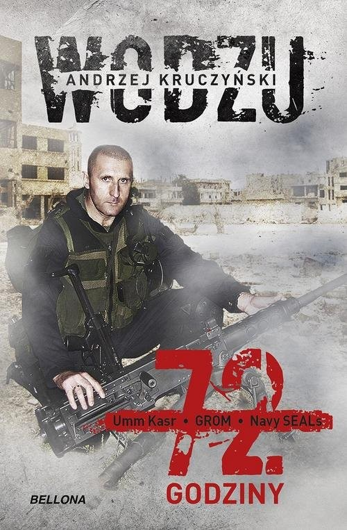 okładka 72 godzinyksiążka      Kruczyński Andrzej