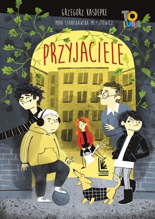 okładka Przyjacieleksiążka      Grzegorz Kasdepke
