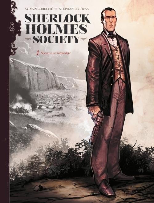 okładka Sherlock Holmes Society Tom 1 Przygoda w Keelodgeksiążka |  | Sylvain Cordurie